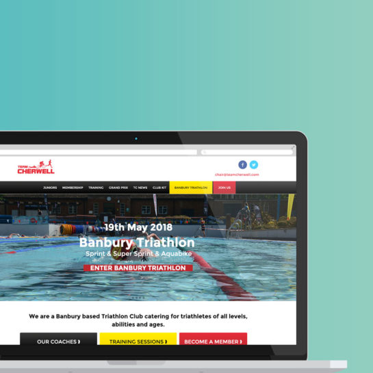 Triathlon Club WordPress Website