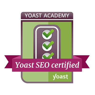 Charlotte Brown successfully completed the Yoast SEO for WordPress course!